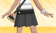 Minifalda Plisada Negro.png