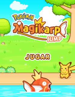 Carátula de Pokémon: Magikarp Jump