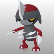 Pawniard Pokédex 3D.png