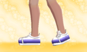Zapatillas de Deporte Violeta Gradual F.png