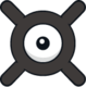 Unown X (dream world).png