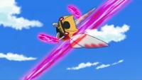 Ninjask usando corte furia.