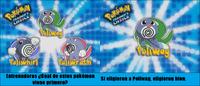 ¿Cuál de estos Pokémon es primero?