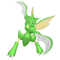 Scyther HOME hembra.png