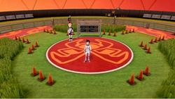 Interior del Estadio Pistón en los videojuegos