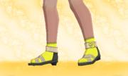 Calcetines Cortos Amarillo F.png