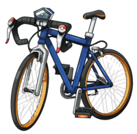 Artwork de la bici de carreras