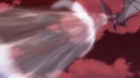 Noivern de Ash usando estruendo.