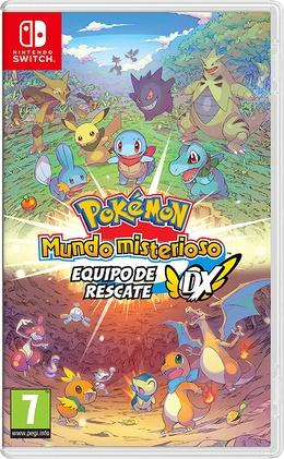 Carátula de Pokémon Mundo misterioso: equipo de rescate DX