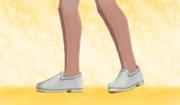 Zapatos Planos Gris.png