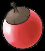 Ilustración de Bonguri rojo