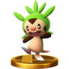 Trofeo de Chespin SSB4 (Wii U).png