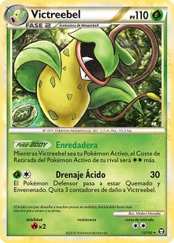 Carta de Victreebel
