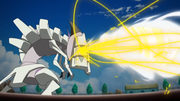 EP1058 Pikachu usando hélice trepanadora contra Golisopod.png