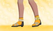 Calcetines Cortos Naranja F.png
