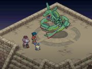 Helio y Chris frente a Rayquaza.png