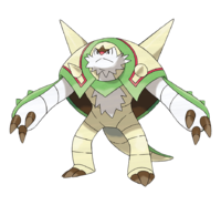 Ilustración de Chesnaught