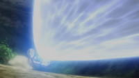 Mega-Metagross usando foco resplandor.