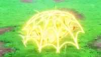 Electrotela del Pikachu de Ash.