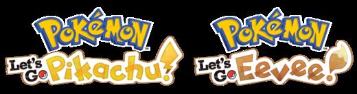 Logo Pokémon Let's Go Pikachu y Pokémon Let's Go Eevee.png