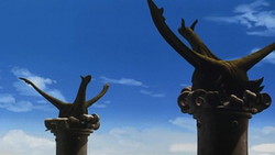 Estatua de Latias.