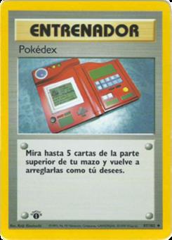 Carta Pokédex