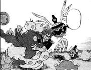 PMS487 Alder con varios pokémon jugando.png