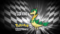 """Servine en el segmento """"¿Quién es ese Pokémon?/¿Cuál es este Pokémon?"""""""