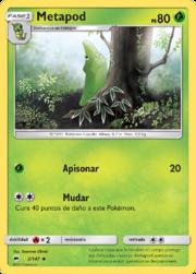 Metapod (Sombras Ardientes TCG).png