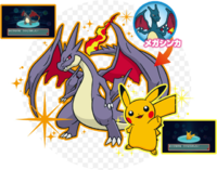 Evento Charizard o Pikachu variocolores.png