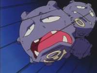 Weezing usando placaje.