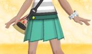 Minifalda Plisada Verde.png