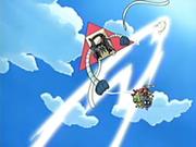 EP433 Shiftry usando golpe aéreo sobre el Team Rocket.png