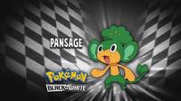 """Pansage en el segmento """"¿Quién es ese Pokémon?/¿Cuál es este Pokémon?"""""""