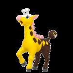 Girafarig macho