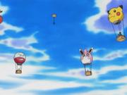 Globo con forma de Pikachu.