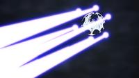 Lunala usando deflagración lunar.
