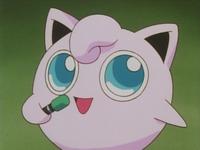 Jigglypuff usando canto.