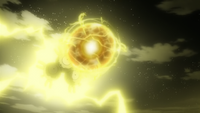 Magneton usando bola voltio.