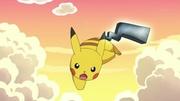 EP755 Pikachu usando Cola férrea.jpg