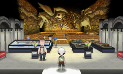 Interior del Gimnasio de Férrica en los videojuegos