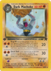 Dark Machoke (Team Rocket TCG)