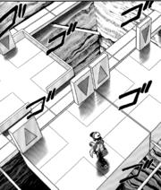 PMS492 Interior del gimnasio Pokémon de ciudad Fayenza.png