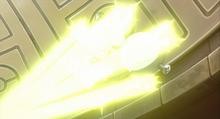 Magneton de un entrenador usando rayo.