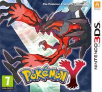 Carátula oficial de Pokémon Y
