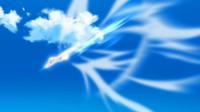 Lycanroc de Mayla usando roca veloz.