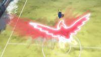 Hawlucha de Ash usando plancha voladora