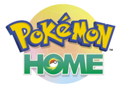 Logotipo de Pokémon HOME.