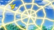 EP1095 Pikachu usando electrotela.png