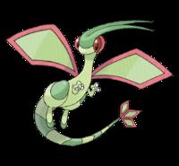 Ilustración de Flygon